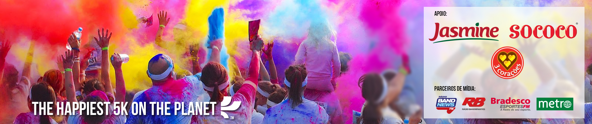 THE COLOR RUN - 1ª ETAPA