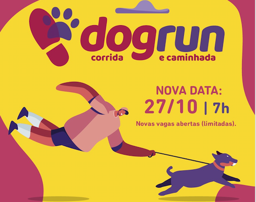 DOG RUN - CORRIDA E CAMINHADA