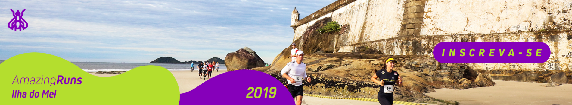 AMAZING RUNS ILHA DO MEL - 2019