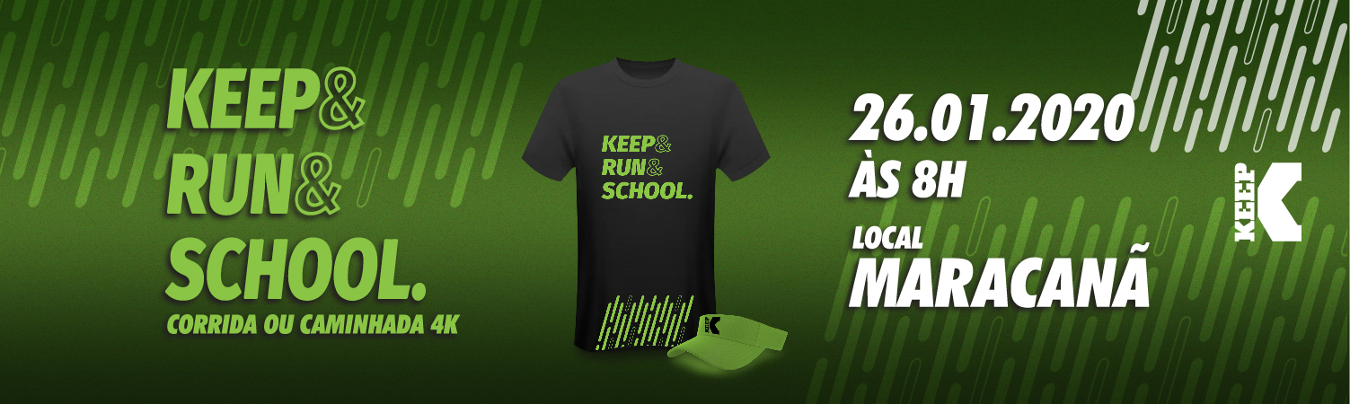 KEEP RUN SCHOOL - CORRIDA E CAMINHADA