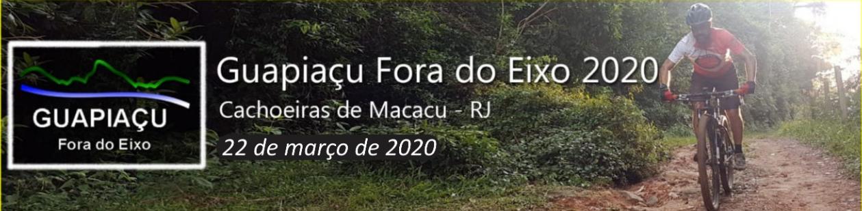 GUAPIAÇU FORA DO EIXO 2020