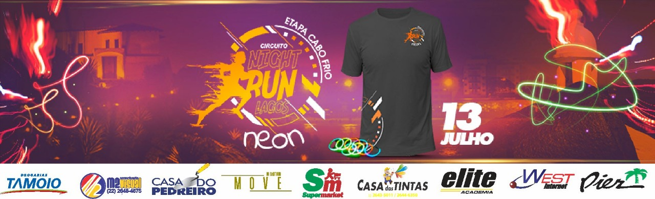CIRCUITO NIGHT RUN LAGOS - ETAPA CABO FRIO 2019