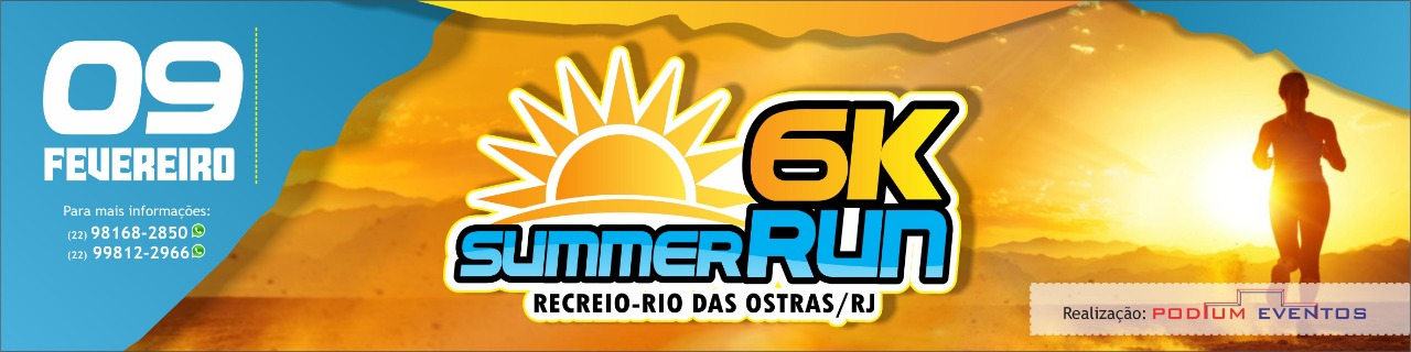 SUMMER RUN 6KM DE RIO DAS OSTRAS