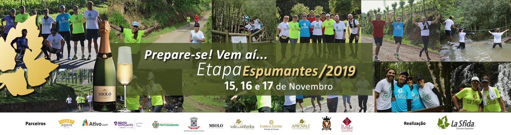 LA SFIDA - ETAPA ESPUMANTES 2019
