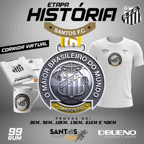 SANTOS RUN VIRTUAL - ETAPA HISTÓRIA